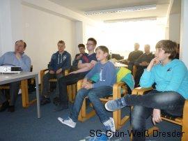 Training bei Miroslav Schwarz