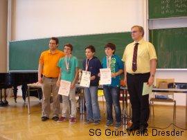 Siegerehrung U14