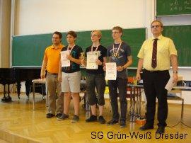 Siegerehrung U16