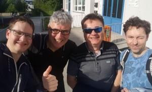 GW beim SVS-Pokal (Selfie Paul Z.)